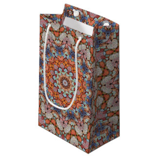 Rocky Roads Vintage Kaleidoscope  Small Gift Bag