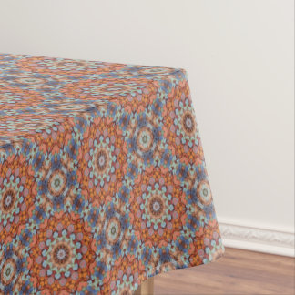 Rocky Roads Vintage Kaleidoscope  Tablecloth