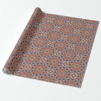 Rocky Roads Vintage Kaleidoscope Wrapping Paper