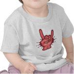 Rocky Rock Hand Tee Shirts