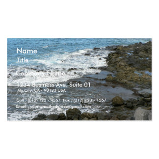 Rocky Sea Business Card Template
