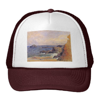Rocky Sea Coast By Paul Gauguin (Best Quality) Mesh Hats