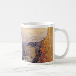 Rocky Sea Coast By Paul Gauguin (Best Quality) Mug