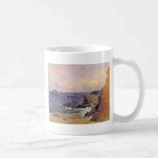 Rocky Sea Coast By Paul Gauguin (Best Quality) Coffee Mug