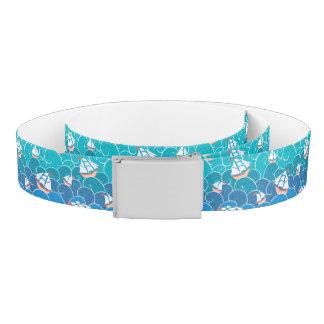 Rocky Sea Pattern Belt