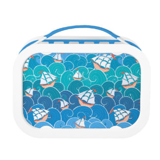 Rocky Sea Pattern Lunch Box