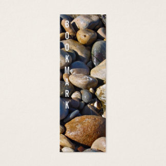 Rocky shore bookmark mini business card