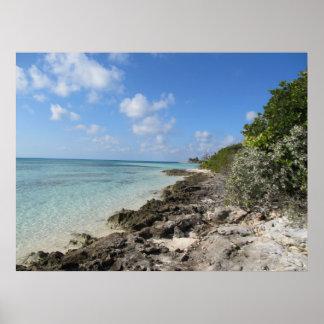Rocky Shore - Coco Cay Poster