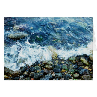 Rocky shoreline card