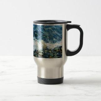 Rocky shoreline mug