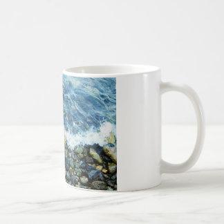 Rocky shoreline mugs