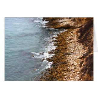 Rocky Shores of Palos Verdes Card