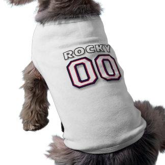 Rocky - Sports Jersey 00 - Dog T-Shirt