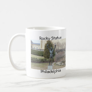 Rocky  Statue Philadelphia Basic White Mug