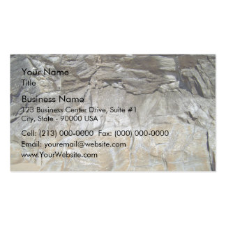 Rocky Stone Natural Mountain Texture Pack Of Standard Business Cards