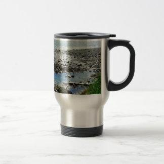 Rocky Stream Stainless Steel Travel Mug