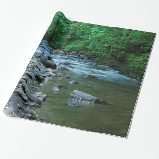 ROCKY STREAM WRAPPING PAPER