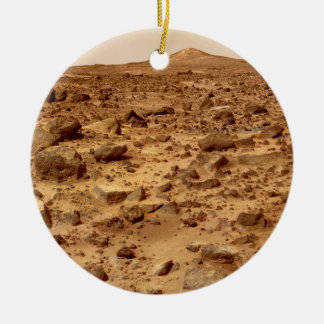 Rocky Surface of Planet Mars Christmas Ornament