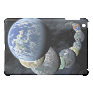 Rocky terrestrial worlds case for the iPad mini