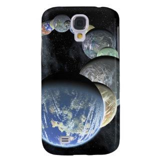 Rocky, terrestrial worlds galaxy s4 case