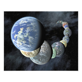 Rocky terrestrial worlds photo