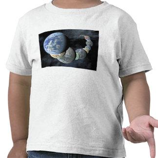 Rocky, terrestrial worlds tee shirt