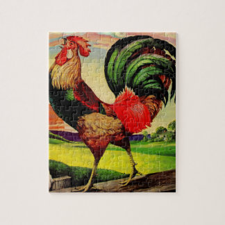 Rocky the Handsome Rooster Jigsaw Puzzle