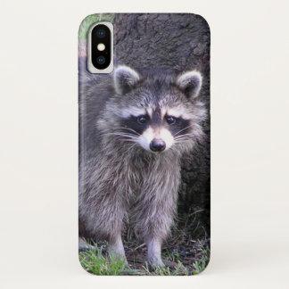 Rocky the Raccoon iPhone X Case