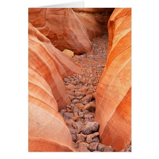 Rocky Trail Card