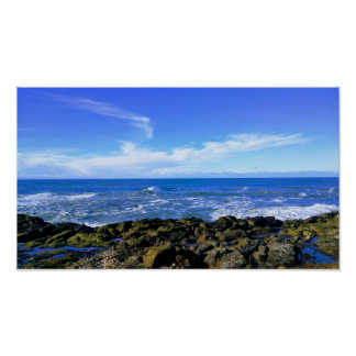 Rocky View at Oregon Coast Poster