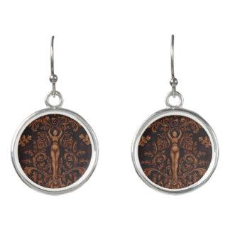 Rococo Goddess Drop Earrings