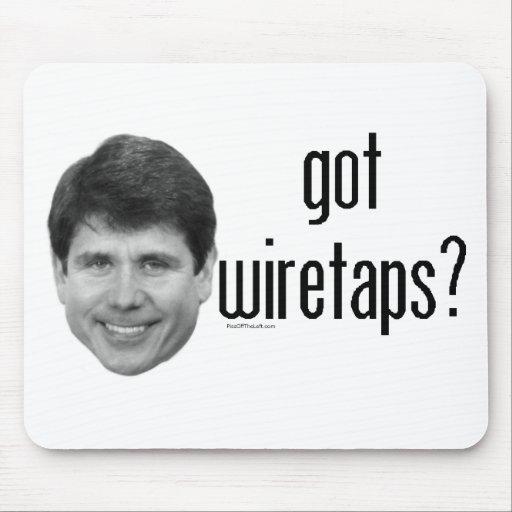 Rod Blagojevich Got Wiretaps Mouse Pad