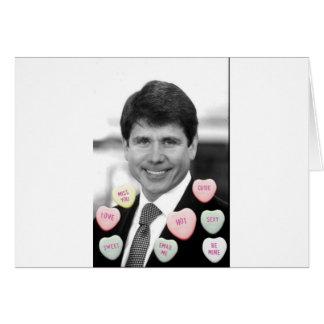 Rod Blagojevich Valentine Cards