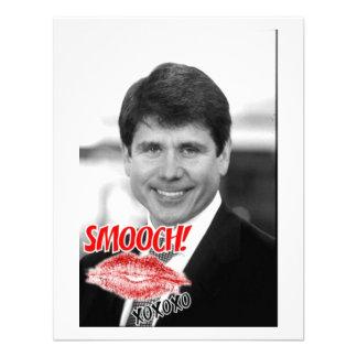 Rod Blagojevich Valentine Announcement