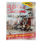 Rod & Custom, Karts in Competition Print