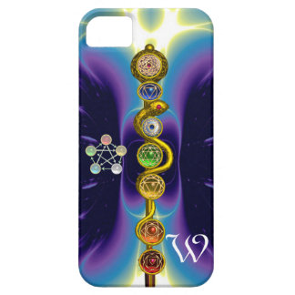 ROD OF ASCLEPIUS 7 CHAKRAS,YOGA ,SPIRITUAL ENERGY BARELY THERE iPhone 5 CASE