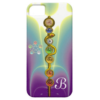 ROD OF ASCLEPIUS 7 CHAKRAS,YOGA ,SPIRITUAL ENERGY CASE FOR THE iPhone 5