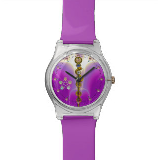 ROD OF ASCLEPIUS 7 CHAKRAS,YOGA ,SPIRITUAL ENERGY WRISTWATCHES