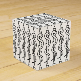 Rod of Asclepius Favour Box