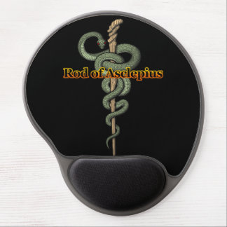 Rod of Asclepius Gel Mouse Mat