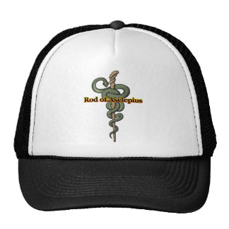 Rod of Asclepius Trucker Hat