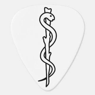 Rod of Asclepius Plectrum