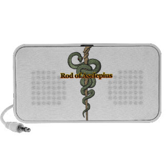 Rod of Asclepius Mp3 Speakers