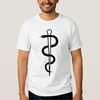 Rod of Asclepius T-Shirt