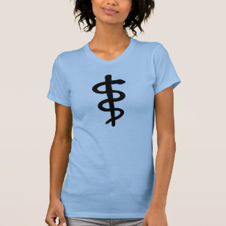 Rod of Asclepius, Tees