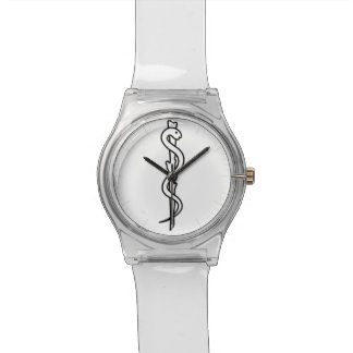 Rod of Asclepius Wristwatch