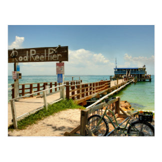 Rod & Reel Pier Postcard