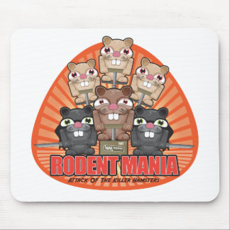 Rodent Mania Mousepad