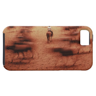 Rodeo arena,blurred motion,Texas, USA iPhone 5 Case