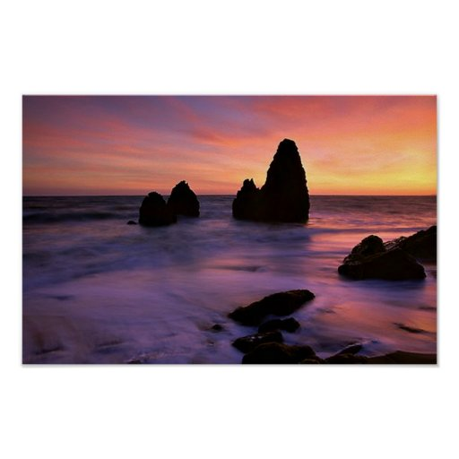 Rodeo Beach Poster